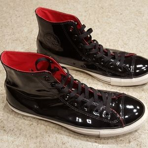 Converse - Chuck Taylor Patent Leather (Black/Red)